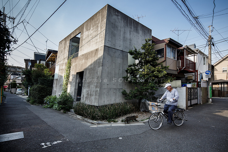 Tokyo, August 29 2013 - Minami-Asagaya house by PRIME.