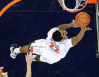 CHARLOTTESVILLE, VA- NOVEMBER 29: Malcolm Brogdon #22 of the Virginia Cavaliers shoots the ball during the game on November 29, 2011 at the John Paul Jones Arena in Charlottesville, Virginia. Virginia defeated Michigan 70-58. (Photo by Andrew Shurtleff/Getty Images) *** Local Caption *** Malcolm Brogdon