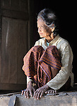 Sok Tey, a resident of the Cambodian village of O Kroich, where residents are members of the Kouy indigenous group.
