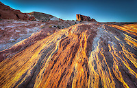 Fire Ripples - Valley of Fire, Nevada