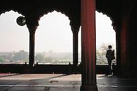 Delhi, India, March 2002.Juma Masjd (Mosq)