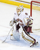 John Muse (BC - 1) - The Boston College Eagles defeated the visiting University of Vermont Catamounts 6-0 on Sunday, November 28, 2010, at Conte Forum in Chestnut Hill, Massachusetts.