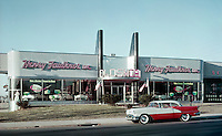 Henry Faulkner Oldsmobile Car Dealership Showroom, PA 1958