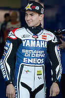 Jorge Lorenzo in the day of Qualifying