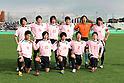 Chukyo University team group line-up,.DECEMBER 25, 2011 - Football / Soccer :.Chukyo University team group shot (Top row - L to R) Shingo Kurita, Ryo Shinzato, Kazuhide Fukugasako, Tomohisa Nakata, Yoshiya Okumura, Keisuke Kumazawa, (Bottom row - L to R) Shogo Fujimaki, Kazuhiro Sato, Takafumi Shimizu, Kyohei Suzaki and Kenzo Nanbu before the 60th All Japan University Football Championship semifinal match between Senshu University 2-0 Chukyo University at Nishigaoka Stadium in Tokyo, Japan. (Photo by Hiroyuki Sato/AFLO)
