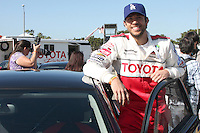 Zach Levi.attending Toyota Celebrity Race Press Day - Toyota Long Beach Grand Prix.Hollywood Blvd.Long Beach, CA.April 6, 2010.©2010 Kathy Hutchins / Hutchins Photo...