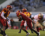 Lafayette High's Cortez Coleman (45) vs. Laurel in the MHSAA Class 4A championship game at Mississippi Veterans Memorial Stadium in Jackson, Miss. on Saturday, December 3, 2011. Lafayette won 39-29, the team's 32 straight win, to capture their second consecutive state championship.