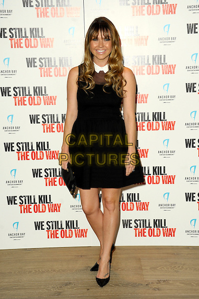 Adele Silva attends a photocall for 'We Still Kill The Old Way' at Ham Yard Hotel on September 29, 2014 in London, England<br /> CAP/CJ<br /> &copy;Chris Joseph/Capital Pictures
