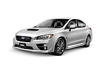2015 Subaru WRX performance car isolated on white background with clipping path