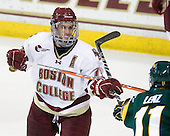 Brian Gibbons (BC - 17), H.T. Lenz (Vermont - 11) - The Boston College Eagles defeated the visiting University of Vermont Catamounts 6-0 on Sunday, November 28, 2010, at Conte Forum in Chestnut Hill, Massachusetts.