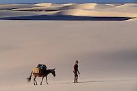 Lençóis Maranhenses dunes. State: Maranhão; Brazil.
