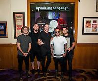 AUG 18 Breaking Benjamin Display Case at Hard Rock Hotel in Las Vegas, NV