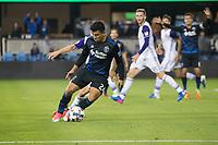 San Jose, CA - May 17, 2017: San Jose Earthquakes during a Major League Soccer (MLS) match against Orlando City SC at Avaya Stadium.