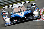 Peugeot 908 Hdi-FAP #7 LMP1, Nicolas Minassian-Simon Pagenaud-Christian Klein, Team Peugeot Total, during the Qualifying Practice. The car did the best time and start in pole position, Saturday, May 9, 2009, in Spa-Francorchamps, Belgium. (Valentin Bianchi/pressphotointl.com)