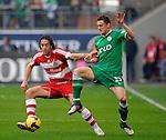 Fussball Bundesliga, Saison 2008/2009: VFL Wolfsburg - FC Bayern Muenchen