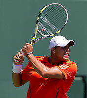 Jo-Wilfred TSONGA (FRA) against Juan Carlos FERRERO (ESP) in the fourth round of the Men's singles. Jo-Wilfred Tsonga beat Juan Carlos Ferrrero 6-2 6-2..International Tennis - 2010 ATP World Tour - Sony Ericsson Open - Crandon Park Tennis Center - Key Biscayne - Miami - Florida - USA - Tue 30th Mar 2010..© Frey - Amn Images, Level 1, Barry House, 20-22 Worple Road, London, SW19 4DH, UK .Tel - +44 20 8947 0100.Fax -+44 20 8947 0117