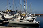 San Sebastion harbour, La Gomera, Canary Islands, Spain