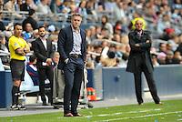 Peter Vermes Head Coach Sporting KC..Sporting Kansas City defeated Chivas USA 4-0 at Sporting Park, Kansas City, Kansas.