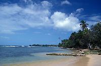 Beach at Boca del Dragao on Isla Colon, Bocas del Toro, Panama