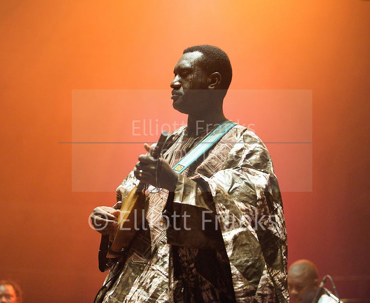 AfroCubism<br /> performing live at The Royal Albert Hall, London, Great Britain <br /> 27th June 2011<br /> <br /> Bassekou Kouyate<br /> <br /> <br /> Photograph by Elliott Franks