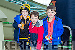 Dean O'Leary, Ben Donovan, Aaron Donovan at the Munster Hurling League match Kerry v Clare in Austin Stack Park on Sunday