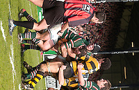 Leicester, ENGLAND,Guinness Premiership Rugby,  Leicester Tigers vs London Wasps © Peter Spurrier/Intersport-images.com.