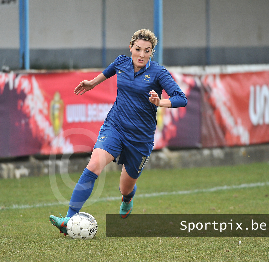 France U19 - Russia U19 : French Claire Lavogez .foto DAVID CATRY / Nikonpro.be