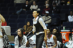 "Ole Miss assistant coach Armintie Price vs. Arkansas at the C.M. ""Tad"" Smith Coliseum in Oxford, Miss. on Thursday, January 12, 2012. Ole Miss won 60-54."