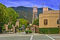 Warner Bros. Gate 4, Water Tower,  Burbank, CA,