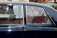 La reine Mathilde de Belgique en visite d'Etat au Danemark, accompagn&eacute;e par la princesse Mary de Danemark, lors d'une visite d'une &eacute;cole &quot; Amager Faelled School &quot;.<br /> Danemark, Copenhague, 29 mars 2017.<br /> Queen Mathilde of Belgium during a State Visit to Copenhagen in Denmark is visiting the ' &quot; Amager Faelled School &quot;  with Princess Mary of Denmark.<br /> Denmark, Copenhagen, March 29, 2017.