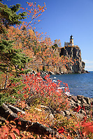 &quot;Autumn Shoreline at Split Rock Lighthouse&quot;<br />