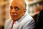 © 2010  David Burnett.represented by Cathy Saypol.& Contact Press Images.New York / NY: 212 695 7750.March 4, 2010.New York NY.author  Walter Mosley