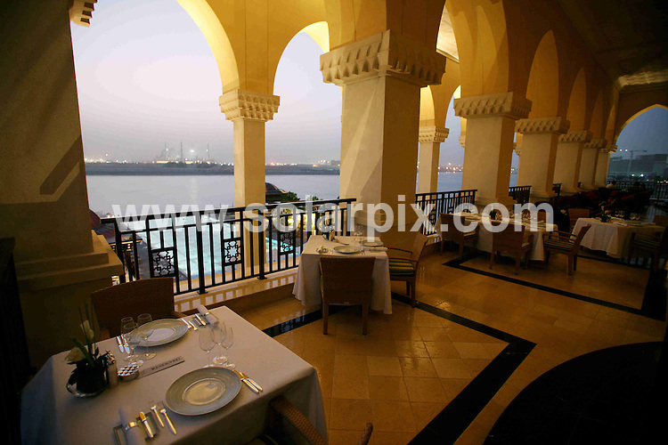 **ALL ROUND PICTURES FROM SOLARPIX.COM**.**WORLDWIDE SYNDICATION RIGHTS**.The spa and Bord Eau's restaurant of the Shangri La hotel, Abu Dhabi, Dubai. 20 April 2008..This pic: Shangri La hotel..JOB REF: 9259 DBL     DATE: 20_04_2009.**MUST CREDIT SOLARPIX.COM OR DOUBLE FEE WILL BE CHARGED**.**ONLINE USAGE FEE GBP 50.00 PER PICTURE - NOTIFICATION OF USAGE TO PHOTO @ SOLARPIX.COM**.**CALL SOLARPIX : +34 952 811 768 or LOW RATE FROM UK 0844 617 7637**