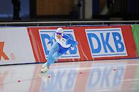 SCHAATSEN: BERLIJN: Sportforum, 06-12-2013, Essent ISU World Cup, 500m Men Division B, Markus Puolakka (FIN), ©foto Martin de Jong