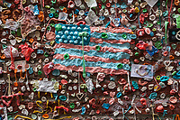 The Gum Wall, Seattle Stock Photos