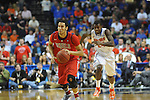 Ole Miss' Anthony Perez (13) vs. Florida in the SEC championship game at Bridgestone Arena in Nashville, Tenn. on Sunday, March 17, 2013.