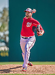 9 March 2014: Washington Nationals pitcher Christian Garcia on the mound during a Spring Training game against the St. Louis Cardinals at Space Coast Stadium in Viera, Florida. The Nationals defeated the Cardinals 11-1 in Grapefruit League play. Mandatory Credit: Ed Wolfstein Photo *** RAW (NEF) Image File Available ***