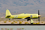 Hawker Sea Fury Furias on take off roll during the 2011 Reno National Championship Air Races.