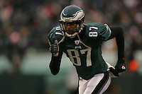 16 Jan 2005:Todd Pinkston of the Philadelphia Eagles during the Philadelphia Eagles 27-14 victory over the Minnesota Vikings at Lincoln Financial Field in Philadelphia, PA. <br /> <br /> Mandatory Credit:Todd Bauders/ContrastPhotography.com