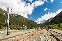 Railways in Otira, Arthur's Pass National Park, West Coast, New Zealand