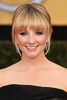 LOS ANGELES, CA - JANUARY 18: Melissa Rauch at the 20th Annual Screen Actors Guild Awards held at The Shrine Auditorium on January 18, 2014 in Los Angeles, California. (Photo by Xavier Collin/Celebrity Monitor)
