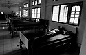AIDs patient dying of TB in tropical AIDs hospice near Chumphon, southern Thailand.