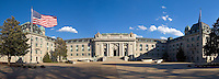 Maryland, Annapolis, U.S. Naval Academy, Bancroft Hall, panorama