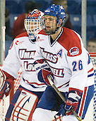 Ryan Blair (Lowell - 26) - The visiting University of New Hampshire Wildcats defeated the University of Massachusetts-Lowell River Hawks 3-0 on Thursday, December 2, 2010, at Tsongas Arena in Lowell, Massachusetts.