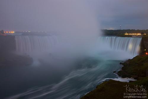 Horseshoe Falls at Dawn, Niagara Falls