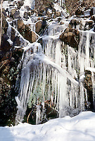 ICICLES<br /> Frozen Waterfall.South Mountain Preservation, Millburn NJ