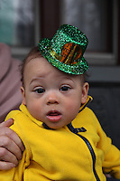 (150314RREI1251) Biosah Byron Mokwunye getting his St. Patrick's Day on and soaking in his Irishness! Washington DC .  March 14 , 2015.  © Rick Reinhard  2015  email rick@rickreinhard.com