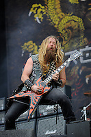 JUN 13 Black Label Society performing at Download Festival