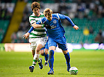 Celtic v St Johnstone....26.12.10  .Liam Craig and Ki Sung Yeung.Picture by Graeme Hart..Copyright Perthshire Picture Agency.Tel: 01738 623350  Mobile: 07990 594431