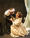 Ensemble and Theatre Royal York present THE RESTORATION OF NELL GWYNN, by Steve Trafford, directed by Damian Cruden, at the Park Theatre. Elizabeth Mansfield plays Nell Gwyn and Angela Curran, Nell's maid, Margery.